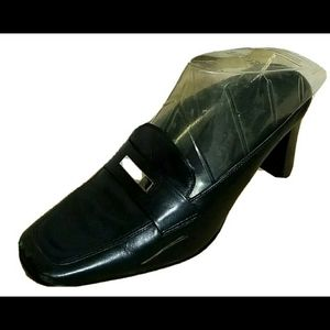 Andrew Geller Magic Striking Metal Bit Shoes 6.5M